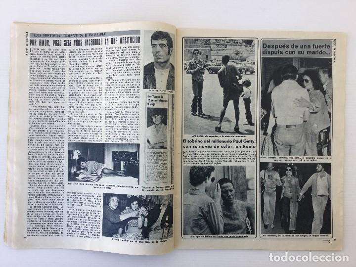 Coleccionismo de Revista Diez Minutos: Revista Diez Minutos nº 1140 - 30/06/1973 – Raphael y El Cordobés - Foto 17 - 142038222