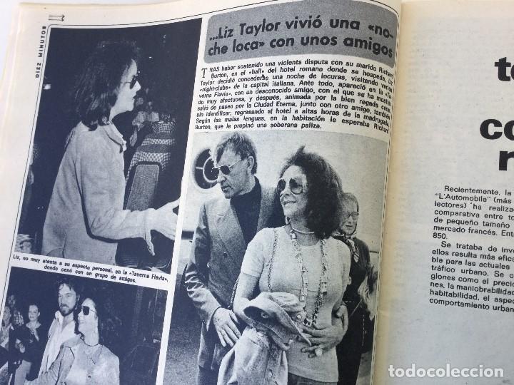 Coleccionismo de Revista Diez Minutos: Revista Diez Minutos nº 1140 - 30/06/1973 – Raphael y El Cordobés - Foto 18 - 142038222