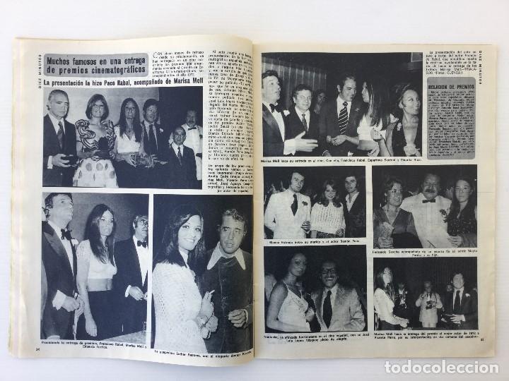 Coleccionismo de Revista Diez Minutos: Revista Diez Minutos nº 1140 - 30/06/1973 – Raphael y El Cordobés - Foto 19 - 142038222