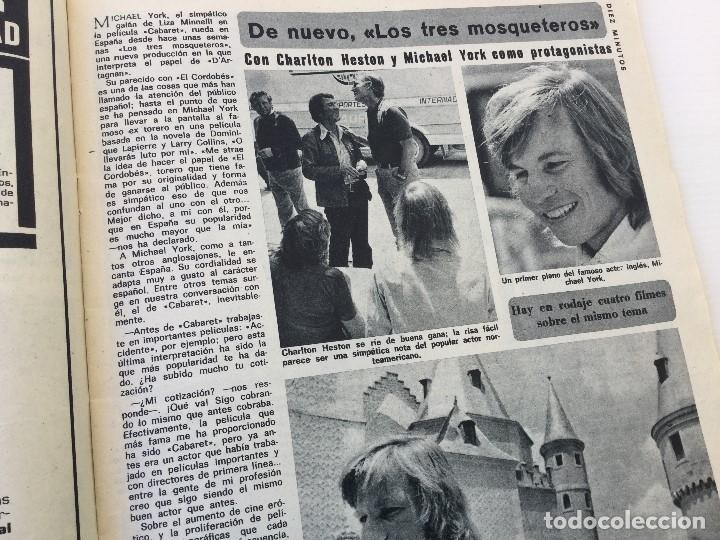 Coleccionismo de Revista Diez Minutos: Revista Diez Minutos nº 1140 - 30/06/1973 – Raphael y El Cordobés - Foto 20 - 142038222