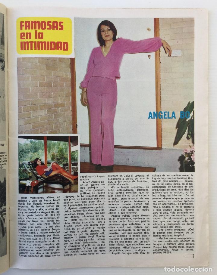 Coleccionismo de Revista Diez Minutos: Revista Diez Minutos nº 1140 - 30/06/1973 – Raphael y El Cordobés - Foto 21 - 142038222