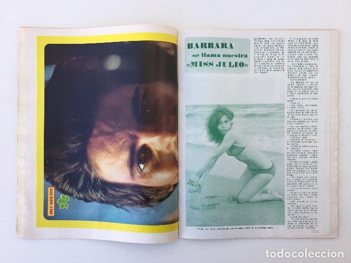 Coleccionismo de Revista Diez Minutos: Revista Diez Minutos nº 1140 - 30/06/1973 – Raphael y El Cordobés - Foto 23 - 142038222