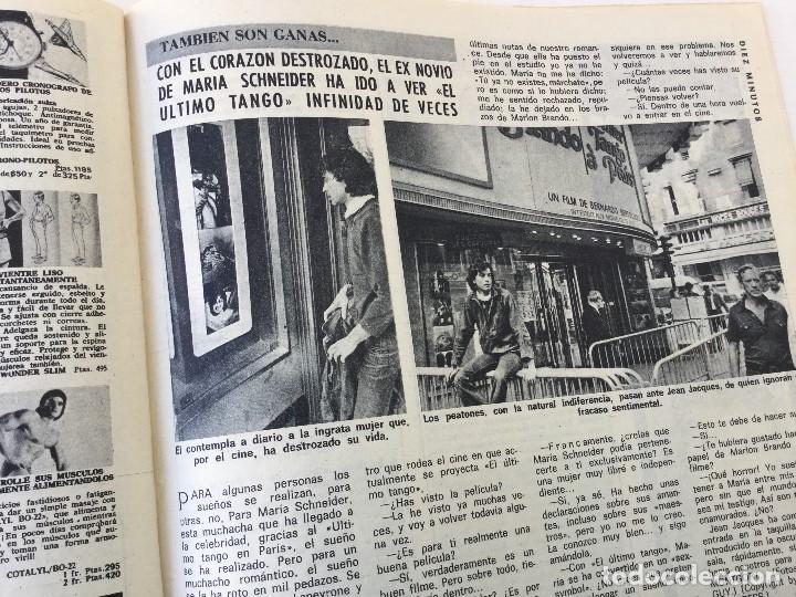 Coleccionismo de Revista Diez Minutos: Revista Diez Minutos nº 1140 - 30/06/1973 – Raphael y El Cordobés - Foto 28 - 142038222