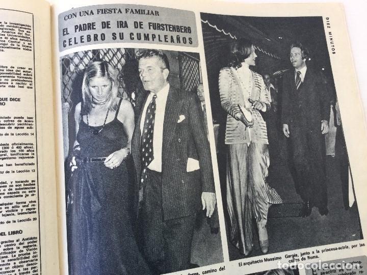 Coleccionismo de Revista Diez Minutos: Revista Diez Minutos nº 1140 - 30/06/1973 – Raphael y El Cordobés - Foto 29 - 142038222