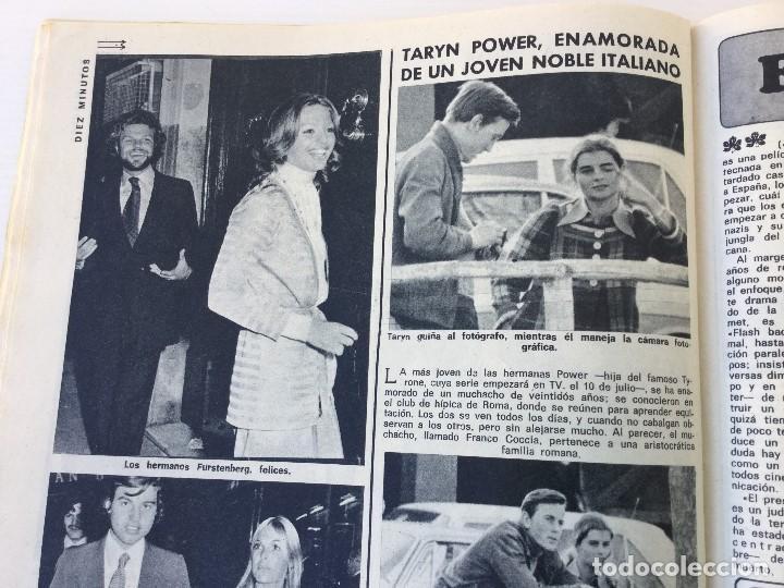 Coleccionismo de Revista Diez Minutos: Revista Diez Minutos nº 1140 - 30/06/1973 – Raphael y El Cordobés - Foto 30 - 142038222