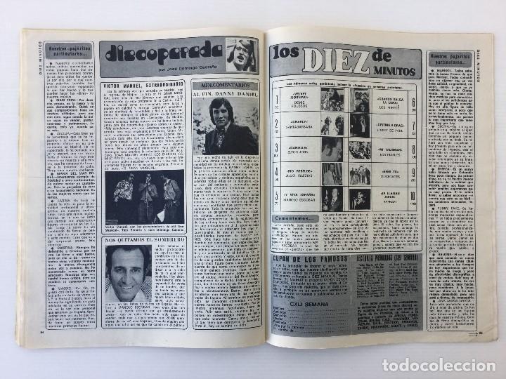 Coleccionismo de Revista Diez Minutos: Revista Diez Minutos nº 1140 - 30/06/1973 – Raphael y El Cordobés - Foto 31 - 142038222
