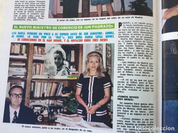 Coleccionismo de Revista Diez Minutos: Revista Diez Minutos nº 1140 - 30/06/1973 – Raphael y El Cordobés - Foto 33 - 142038222
