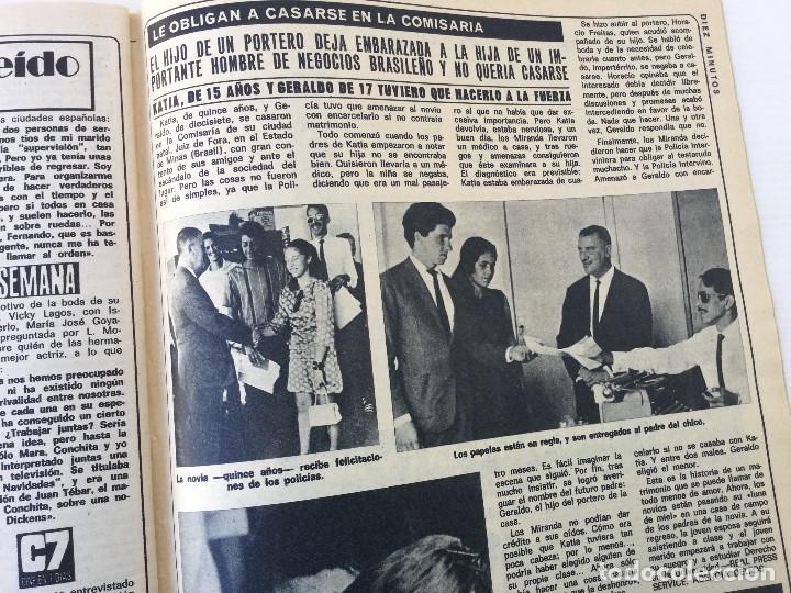 Coleccionismo de Revista Diez Minutos: Revista Diez Minutos nº 1140 - 30/06/1973 – Raphael y El Cordobés - Foto 34 - 142038222