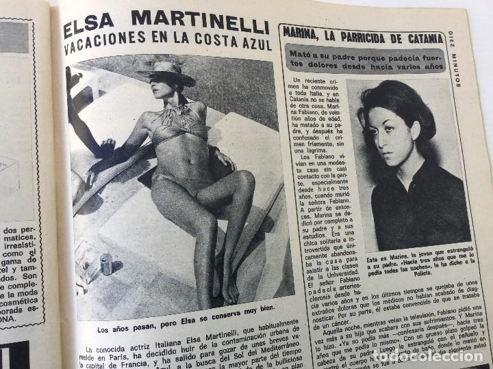 Coleccionismo de Revista Diez Minutos: Revista Diez Minutos nº 1140 - 30/06/1973 – Raphael y El Cordobés - Foto 35 - 142038222