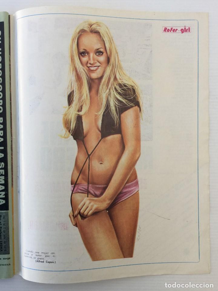 Coleccionismo de Revista Diez Minutos: Revista Diez Minutos nº 1140 - 30/06/1973 – Raphael y El Cordobés - Foto 38 - 142038222