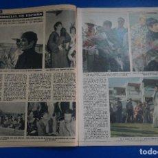 Coleccionismo de Revista Diez Minutos: RECORTE REPORTAJE CLIPPING DE LIZA MINNELLI MARBELLA REVISTA DIEZ MINUTOS Nº 1200 PAG 22-25. Lote 142721406