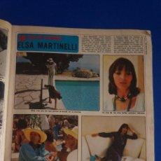 Coleccionismo de Revista Diez Minutos: RECORTE REPORTAJE CLIPPING DE ELSA MARTINELLI REVISTA DIEZ MINUTOS Nº 1193 PAG 47-49,58-59. Lote 142722522