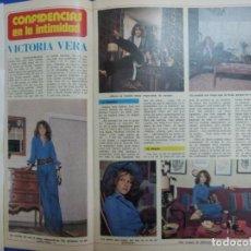 Coleccionismo de Revista Diez Minutos: RECORTE REPORTAJE DE CLIPPING DE VICTORIA VERA REVISTA DIEZ MINUTOS Nº 1242 PAG 50-53. Lote 143189778