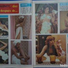 Coleccionismo de Revista Diez Minutos: RECORTE REPORTAJE DE CLIPPING DE ROSA VALENTY REVISTA DIEZ MINUTOS Nº 1379 PAG 46-49. Lote 143276654
