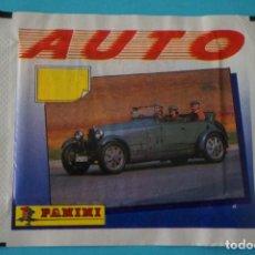 Coleccionismo de Revista Diez Minutos: SOBRE DE CROMOS SIN ABRIR DE AUTO DE PANINI. Lote 143347594