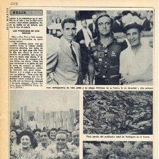Coleccionismo de Revista Diez Minutos: REVISTA DIEZ MINUTOS. Nº 1493. 05/04/1980. FÉLIX RODRÍGUEZ DE LA FUENTE.. Lote 143520970