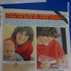 Coleccionismo de Revista Diez Minutos: RECORTE REPORTAJE CLIPPING DE PILAR TORRES BEA VERANO AZUL REVISTA DIEZ MINUTOS Nº 1577 PAG 43-44,46. Lote 144739806