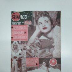 Coleccionismo de Revista Diez Minutos: EL GRAFICO. SUPLEMENTO MENSUAL DE DIEZ MINUTOS. FEBRERO DE 1958. TDKR42. Lote 145163470