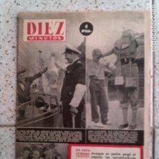 Coleccionismo de Revista Diez Minutos: REVISTA DIEZ MINUTOS N,112 DE 1953. Lote 146144914