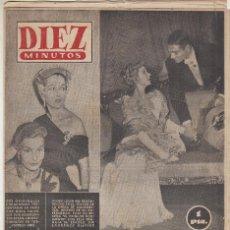 Coleccionismo de Revista Diez Minutos: REVISTA DIEZ MINUTOS Nº 113 AÑO 1953. LEIGH AUTO SCOOTER SALON DEL AUTOMOVIL. Lote 146563058