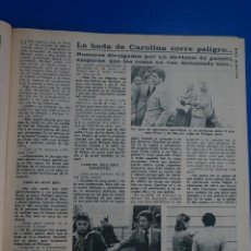 Coleccionismo de Revista Diez Minutos: RECORTE REPORTAJE CLIPPING CAROLINA DE MONACO PHILIPPE JUNOT REVISTA DIEZ MINUTOS Nº 1365 PÁG 39. Lote 147931258