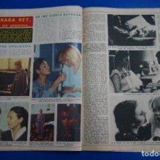 Coleccionismo de Revista Diez Minutos: RECORTE REPORTAJE CLIPPING DE BARBARA REY REVISTA DIEZ MINUTOS Nº 1365 PÁG 80-81. Lote 147931602
