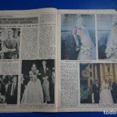 Coleccionismo de Revista Diez Minutos: RECORTE REPORTAJE CLIPPING JACQUELINE JACLYN SMITH JOHN KENNEDY DIEZ MINUTOS Nº 1557 PÁG 42-43. Lote 147932514