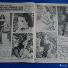 Coleccionismo de Revista Diez Minutos: RECORTE REPORTAJE CLIPPING DE MARIA JOSE CANTUDO REVISTA DIEZ MINUTOS Nº 1557 PÁG 102-103. Lote 147933410