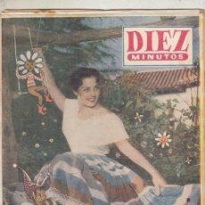 Coleccionismo de Revista Diez Minutos: REVISTA DIEZ MINUTOS Nº EXTRAORDINARIO PRIMAVERA AÑO 1956. CARMEN SEVILLA. . Lote 148539782