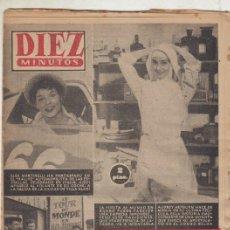 Coleccionismo de Revista Diez Minutos: REVISTA DIEZ MINUTOS Nº 347 AÑO 1958. ELSA MARTINELLI. AUDREY HEPBURN. PETER TOWNSEND. . Lote 148665882