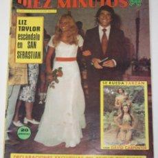 Coleccionismo de Revista Diez Minutos: DIEZ MINUTOS #1153 1973 ORANTES LIZ TAYLOR DAVID CARPENTER MICHEL PICCOLI MARISA MELL LIZA MINNELLI. Lote 149001350
