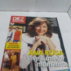 Coleccionismo de Revista Diez Minutos: REVISTA DIEZ MINUTOS EL 12 DE SEPTIEMBRE DEL 2003 NÚMERO 2716 ANA ROSA QUINTANA. Lote 151875992