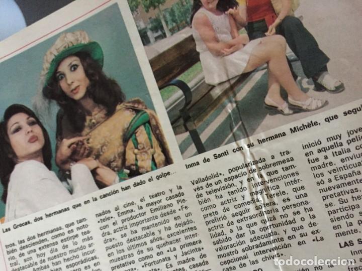 Coleccionismo de Revista Diez Minutos: DIEZ MINUTOS 76 ELVIS PRESLEY RAPHAEL BEATLES MARIA JOSE CANTUDO MONICA RANDALL DEMIS ROUSSOS - Foto 9 - 144947441