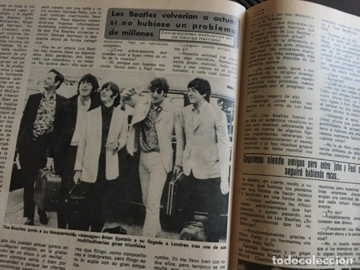 Coleccionismo de Revista Diez Minutos: DIEZ MINUTOS 76 ELVIS PRESLEY RAPHAEL BEATLES MARIA JOSE CANTUDO MONICA RANDALL DEMIS ROUSSOS - Foto 5 - 144947441