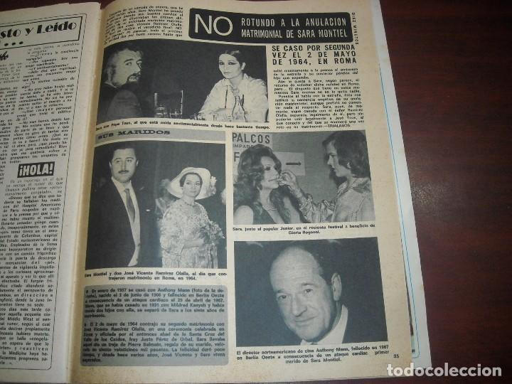 1 PAG. RECORTE CLIPPING- SARA MONTIEL NO SEPARACIÓN-1975 REVISTA DIEZ MINUTOS (Coleccionismo - Revistas y Periódicos Modernos (a partir de 1.940) - Revista Diez Minutos)