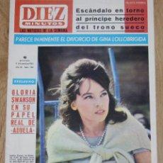 Coleccionismo de Revista Diez Minutos: DIEZ MINUTOS #746 1965 LESLIE CARON JANE ASHER BEATLES GLORIA SWANSON SYLVIE VARTAN MARUJITA DIAZ. Lote 154772542