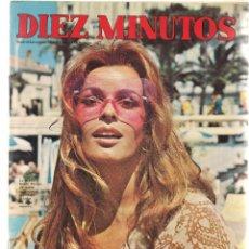 Coleccionismo de Revista Diez Minutos: DIEZ MINUTOS. Nº 1037. CARMEN SEVILLA; POSTERS: IRAN EORY / MIKE KENNEDY.; 10/7/71(P/B71). Lote 155927590