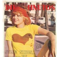 Coleccionismo de Revista Diez Minutos: DIEZ MINUTOS. Nº 1038. POSTERS: MARGIT / DANIEL VELAZQUEZ. 17/ JULIO 1971.(P/B71). Lote 155928090