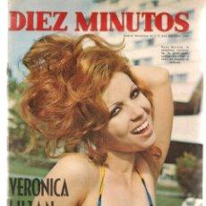 Coleccionismo de Revista Diez Minutos: DIEZ MINUTOS. Nº 1039. POSTERS: ODILE RODIN / RYAN O´NEIL. 24 JULIO 1971. (P/B71). Lote 155928494