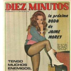 Coleccionismo de Revista Diez Minutos: DIEZ MINUTOS. Nº 1055. SARA MONTIEL. POSTRES: SUSAN SAINT JAMES/ ROGER MOORE. 13 NVBRE 1971.(P/B71). Lote 155929542