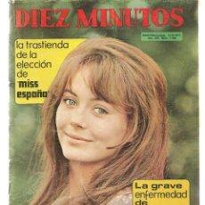 Coleccionismo de Revista Diez Minutos: DIEZ MINUTOS. Nº 1060. POSTERS: BEATRIZ LACY / GERMAN COBOS. 18 DICIEMBRE 1971.(P/B71). Lote 155930158