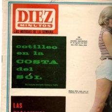 Coleccionismo de Revista Diez Minutos: DIEZ MINUTOS. Nº 834. 19 AGOSTO 1967. (P/B71). Lote 155981094