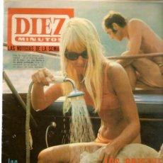Coleccionismo de Revista Diez Minutos: DIEZ MINUTOS. Nº 835. 26 AGOSTO 1967. (P/B71). Lote 155981462