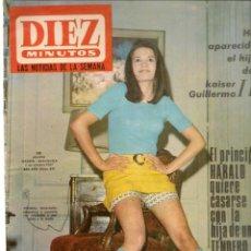 Coleccionismo de Revista Diez Minutos: DIEZ MINUTOS. Nº 841. 7 AGOSTO 1967. (P/B71). Lote 155981838