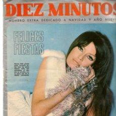 Coleccionismo de Revista Diez Minutos: DIEZ MINUTOS. NÚMERO EXTRA DEDICADO A NAVIDAD Y AÑO NUEVO. 23 DICIEMBRE 1967. (P/B71). Lote 155982270