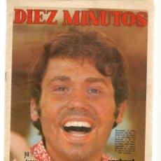 Coleccionismo de Revista Diez Minutos: DIEZ MINUTOS. Nº 942. RAPHAEL. 13 SEPTIEMBRE 1969. (P/B71). Lote 155994858