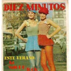 Coleccionismo de Revista Diez Minutos: DIEZ MINUTOS. Nº 1068. SUPER POSTER: IRENE MIR. 12 FEBRERO 1972. (P/B71). Lote 155995474