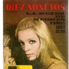 Coleccionismo de Revista Diez Minutos: DIEZ MINUTOS. Nº 1070. POSTER: MARISOL / BURT LANCASTER. 26 FEBRERO 1972. (P/B71). Lote 155995914