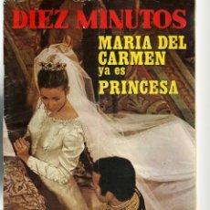 Coleccionismo de Revista Diez Minutos: DIEZ MINUTOS. Nº 1073. POSTER: CHRIS MITCHUM. 18 MARZO 1972. (P/B71). Lote 155996238
