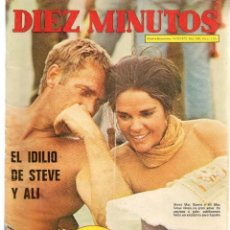 Coleccionismo de Revista Diez Minutos: DIEZ MINUTOS. Nº 1103. POSTER: PETER O´TEOLE. 14 OCTUBRE 1972.(P/B71). Lote 155998274